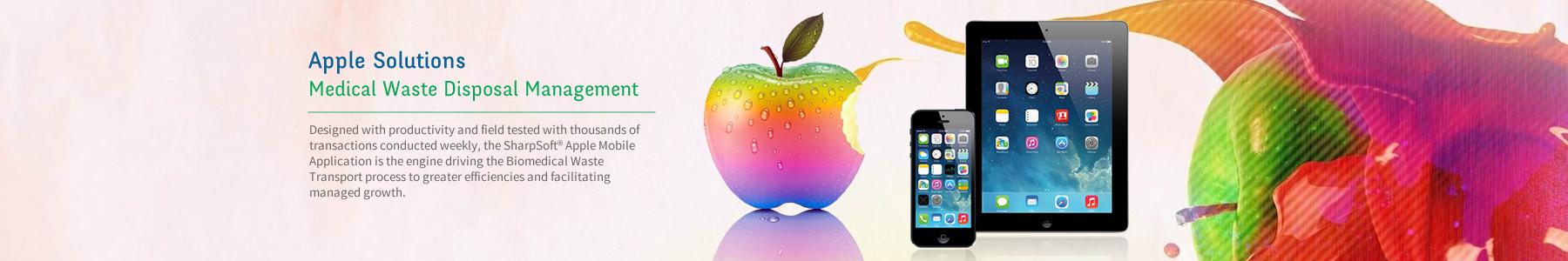 Apple Medical Waste Software Application